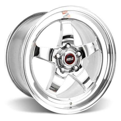 Weld Mustang RT-S Wheel & Tire Kit - 18x5/17x10  - Polished (15-17)