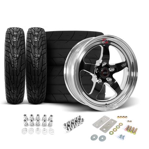 Mustang Weld Rt S Wheels Amp Tires Kit 17x5 15x10 Lmr