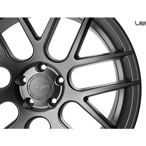 Velgen Mustang VMB7 Wheel & Tire Kit - 20x9/10.5 Matte Gun Metal (15-17) Nitto NT555 G2