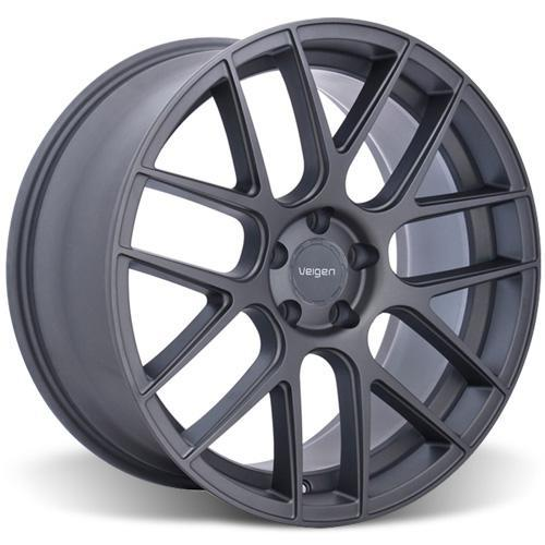 Velgen Mustang VMB7 Wheel & Tire Kit - 20x9/10.5 Matte Gun Metal (15-16) Nitto NT555