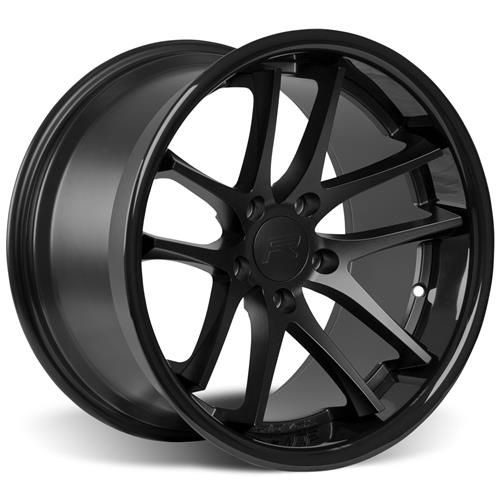 Rovos Mustang Cape Town Wheel & Tire Kit- 18x9/10  - Satin Black - NT555 Tires (94-04)