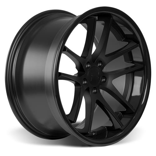 Rovos Mustang Cape Town Wheel & Tire Kit- 20x8.5/10  - Satin Black - Ohtsu Tires (15-17)