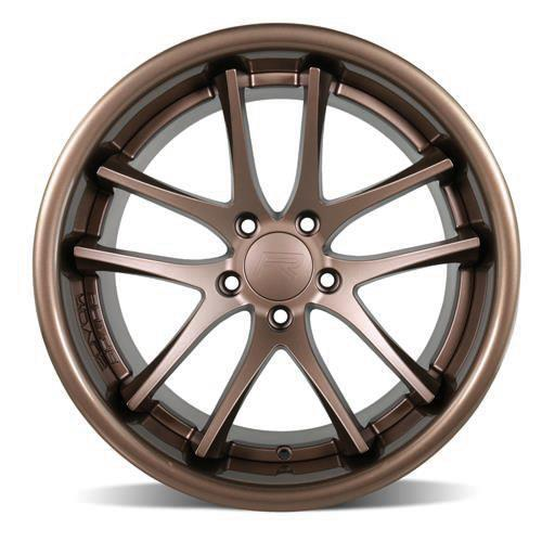 Rovos Mustang Cape Town Wheel & Tire Kit- 20x8.5/10  - Satin Bronze - Ohtsu Tires (15-17)