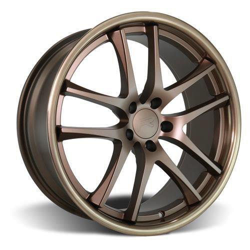 Rovos Mustang Cape Town Wheel & Tire Kit- 20x8.5/10  - Satin Bronze - M/T Street Comp Tires (05-14)