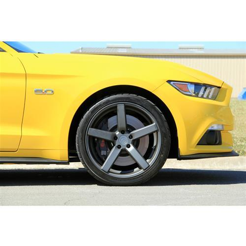 Mustang DF5 Wheel & Tire Kit - 20x8.5/10 Matte Gunmetal (15-16) Ohtsu