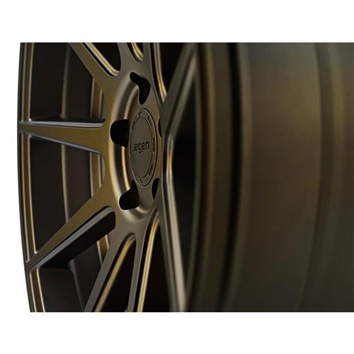 Velgen Mustang VMB9 Wheel & Nt555 G2 Tire Kit - 20x9/10.5 Bronze (15-17)