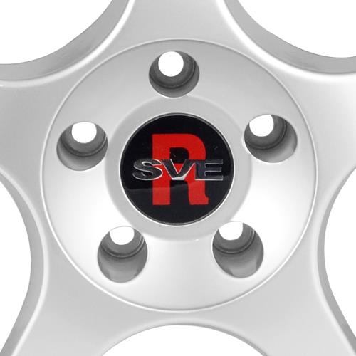 SVE Mustang 2000 Cobra R Style Wheel & Tire Kit - 18x9.5 Silver (94-04) NT05