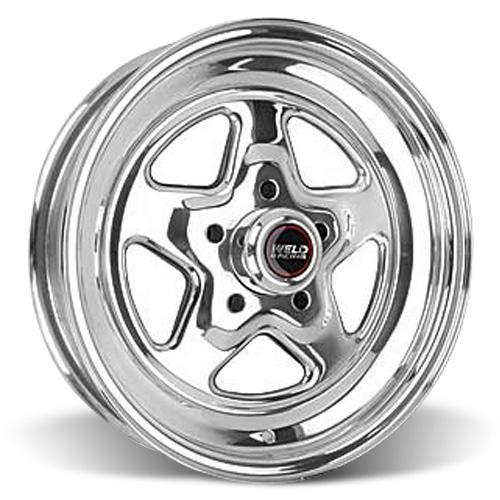 Weld Mustang Pro-Star Wheel & Tire Kit - 15X3.5/8 (94-04) Nitto NT555R