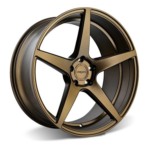 Velgen Mustang Classic5 Wheel & Tire Kit - 20x9/10.5  - Bronze - Nitto Invo (15-17)