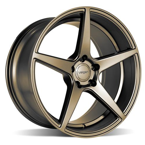 Velgen Mustang Classic5 Wheel & Tire Kit - 20x9/10.5  - Bronze - Nitto Invo (15-18)