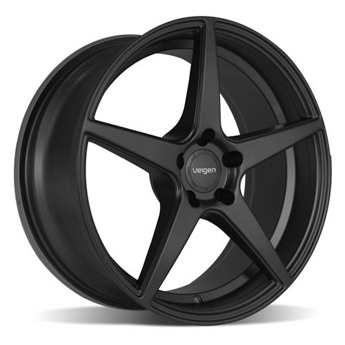 Velgen Mustang Classic5 Wheel & Tire Kit - 20x9/10.5  - Satin Black - Nitto G2 (15-18)