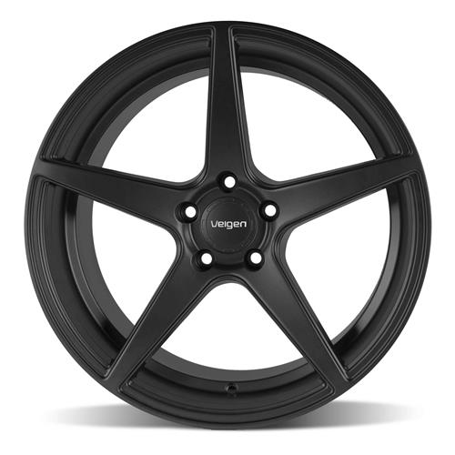 Velgen Mustang Classic5 Wheel & Tire Kit - 20x9/10.5  - Satin Black - Nitto G2 (05-14)