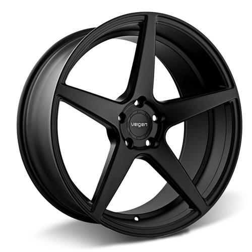 Velgen Mustang Classic5 Wheel & Tire Kit - 20x9/10.5  - Satin Black - Nitto Invo (15-17)