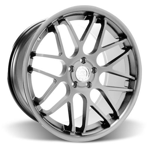 Mustang Downforce Wheel & Tire Kit - 20x8.5/10  Platinum (15-17) Invo