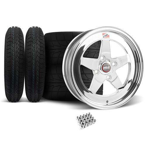 1979-93 FORD MUSTANG WELD RT-S Wheel & Tire Kit