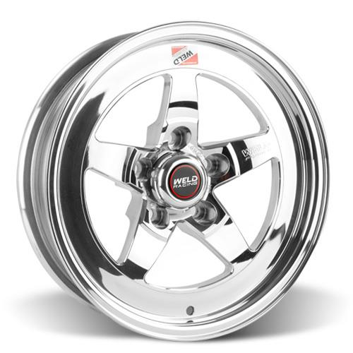 Weld Mustang RT-S Wheel & Tire Kit - 15x4/15x8 Polished (79-93)
