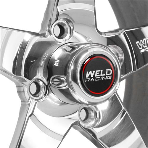 Weld Mustang RT-S Wheel & Tire Kit - 15x4/15x10 Polished (79-93)