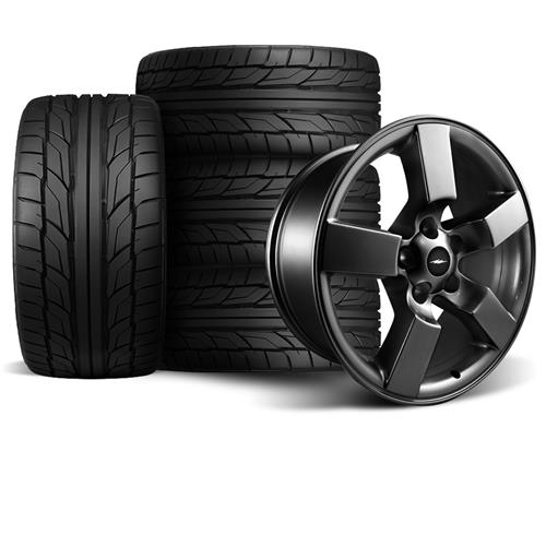 F-150 SVT Lightning Wheel & Tire Kit - 20x9  - Matte Black - NT555 G2 (99-04)