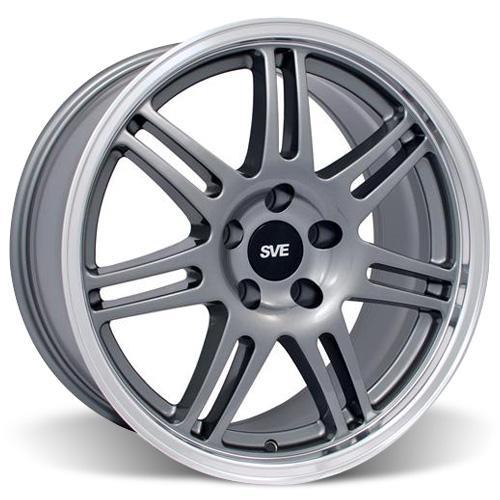 SVE Mustang Anniversary Wheel & Tire Kit - 17x9 Anthracite (94-04) Nitto NT555