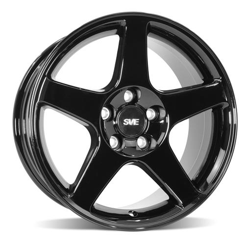Mustang 03 Cobra Wheel & Tire Kit - 17x9 Black (94-04) Sumitomo ZII