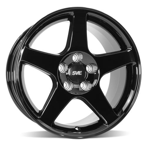 Mustang 03 Cobra Wheel & Tire Kit - 17x9/10.5 Black (94-04) Nitto G2