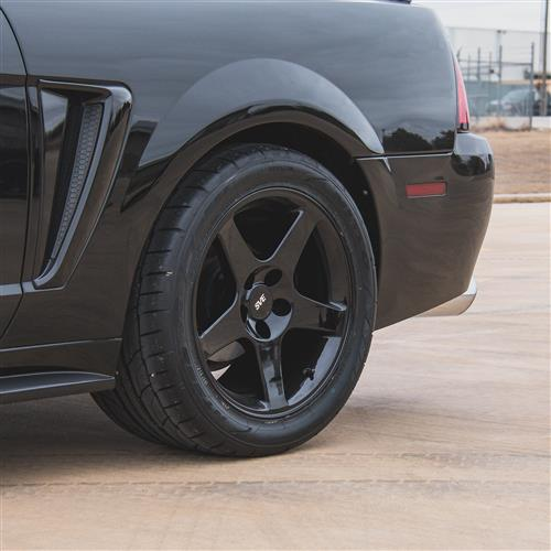 Mustang 2003 Cobra Wheel Drag Radial Tire Kit 17x9 10 5 Black Nt555r 94 04