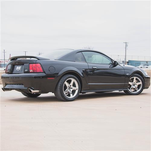 Mustang 2003 Cobra Wheel & Drag Radial Tire Kit  - 17x9/10.5 - Chrome - NT555R (94-04)