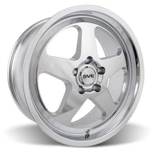 Mustang SC Wheel & Tire Kit - 17x9 Chrome (94-04) Nitto G2