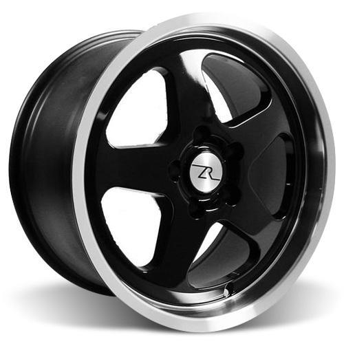 Mustang SC Wheel & Tire Kit - 17x9 Black (94-04) Sumitomo ZII