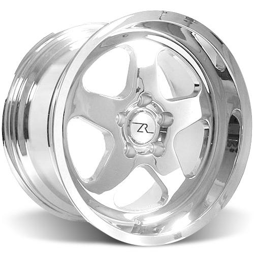 Mustang SC Staggered Wheel & Tire Kit - 17x9/10 Chrome (94-04) Nitto G2