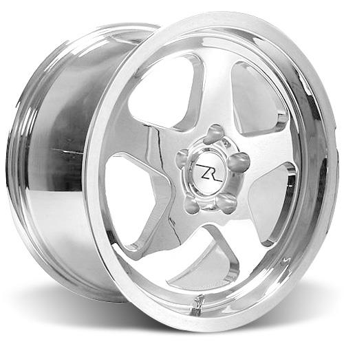 Mustang Saleen SC Wheel & Drag Radial Tire Kit  - 17x9/10 - Chrome - NT555R (94-04)
