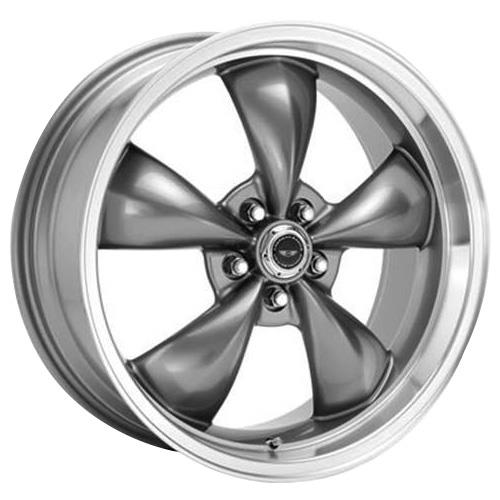 American Racing  Mustang Torque Thrust M Wheel & Tire Kit - 17x9/10.5 Anthracite (94-04) Nitto G2