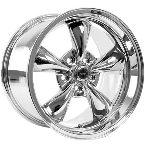 American Racing  Mustang Torque Thrust M Wheel & Tire Kit - 17x9/10.5 Chrome (94-04) Nitto G2 - American Racing  Mustang Torque Thrust M Wheel & Tire Kit - 17x9/10.5 Chrome (94-04) Nitto G2