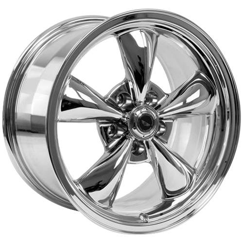 American Racing  Mustang Torque Thrust M Wheel & Tire Kit - 17x9/10.5 Chrome (94-04) Nitto G2
