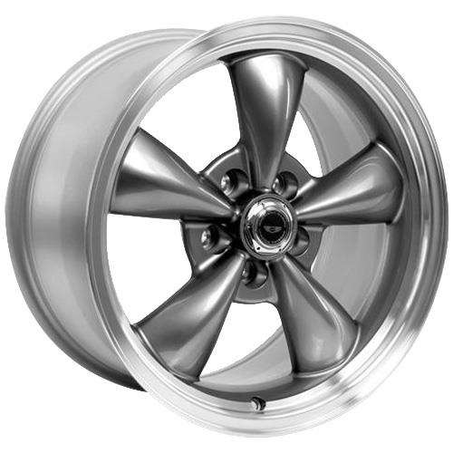 American Racing  Mustang Torque Thrust M Wheel & Tire Kit - 17x9 Anthracite (94-04) Nitto G2