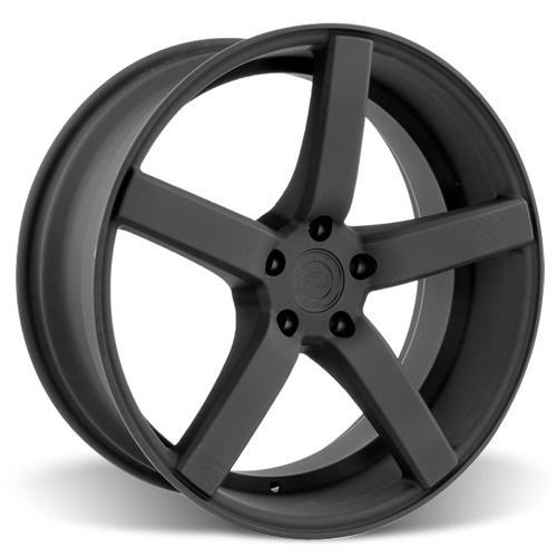 Mustang DF5 Wheel & Tire Kit - 20x8.5 Flat Black   (05-14) Ohtsu