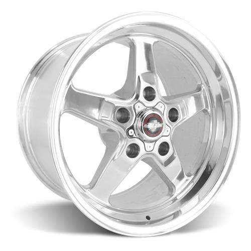 Race Star F-150 SVT Lightning Drag Star Wheel & Tire Kit - 17x7/10.5  - Polished - M/T Tires (00-04)