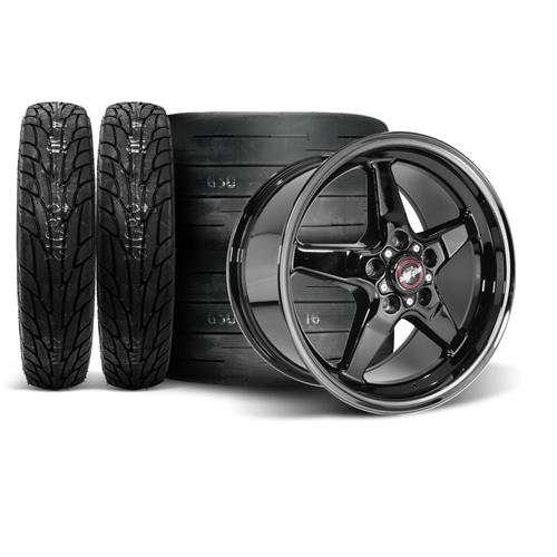 Race Star Mustang Dark Star Wheel & Tire Kit - 18x5/17x9.5  - M/T Tires (05-14)