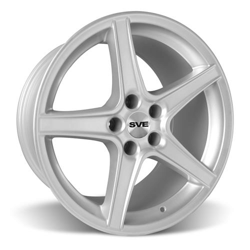Mustang Saleen Wheel & Tire Kit - 18x9/10  - Silver - Nitto NT555 (94-04)