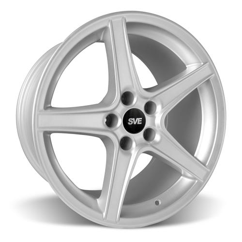 Mustang Saleen Wheel & Tire Kit - 18x9/10  - Silver - Nitto NT05 (94-04)
