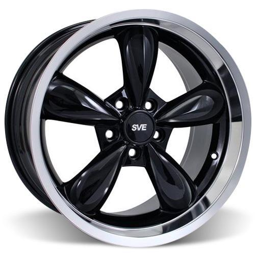 Mustang Bullitt Wheel & Tire Kit - 18x9/10 Black (05-14) Sumitomo ZII