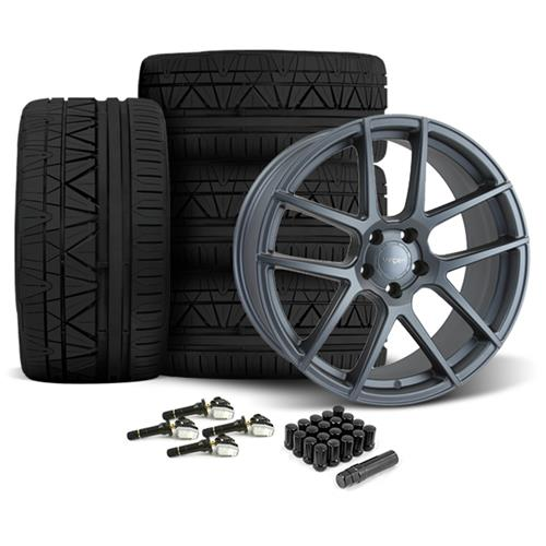 Velgen Mustang VMB5 20X9/10.5 Wheel & Nitto Invo Tire Kit Gunmetal (15-16) - Velgen Mustang VMB5 20X9/10.5 Wheel & Nitto Invo Tire Kit Gunmetal (15-16)