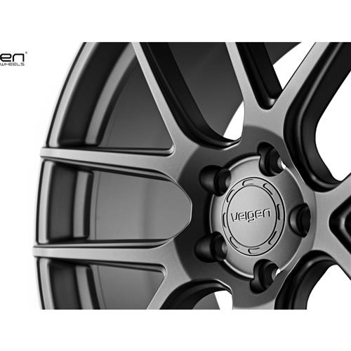Velgen Mustang VMB5 20X9/10.5 Wheel & Nitto Invo Tire Kit Gunmetal (15-17)
