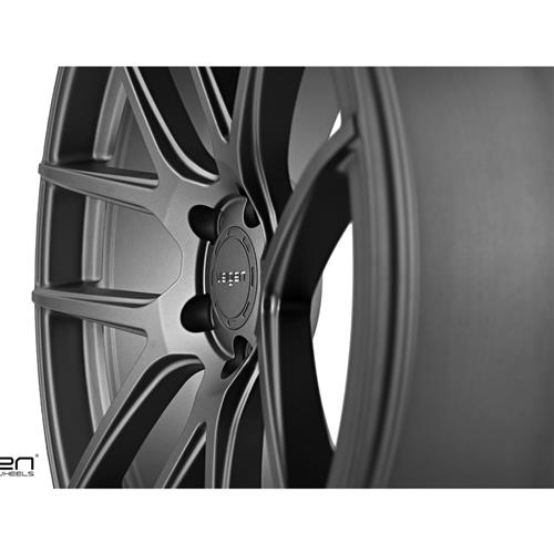 Velgen Mustang VMB5 Wheel & Nitto NT05 Tire Kit Gunmetal (15-17)