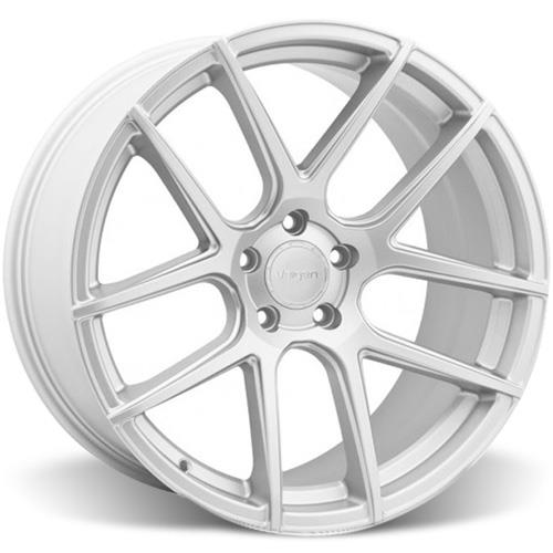 Velgen Mustang VMB5 Wheel & Nitto Invo Tire Kit Silver (05-14)
