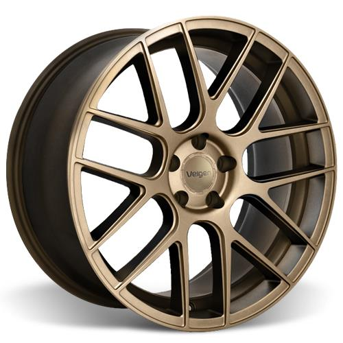 Velgen Mustang VMB7 Wheel & Invo Tire Kit - 20x9/10.5 Bronze (05-14)