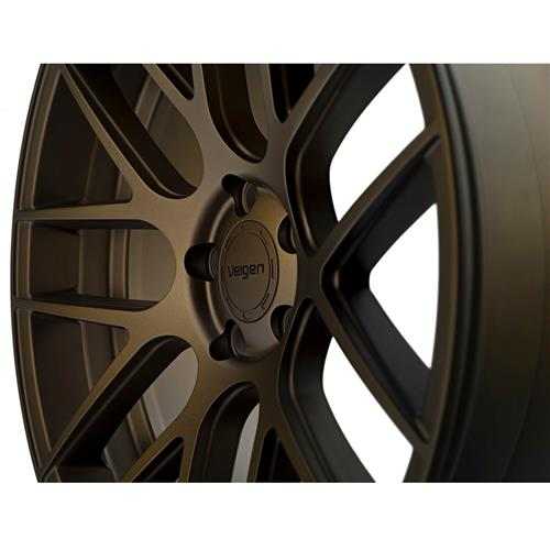 Velgen Mustang VMB7 Wheel & NT05 Tire Kit - 20x9/10.5 Bronze (05-14)