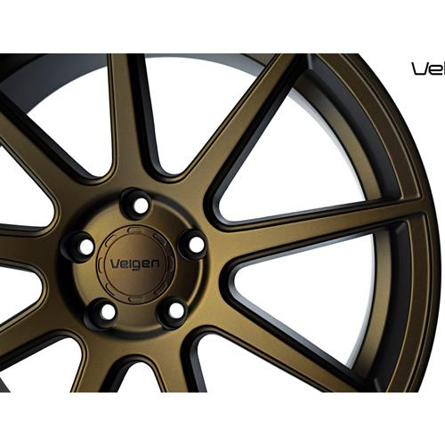 Velgen Mustang VMB9 Wheel & Nitto Nt05 Tire Kit - 20x9/10.5 Bronze (15-17)