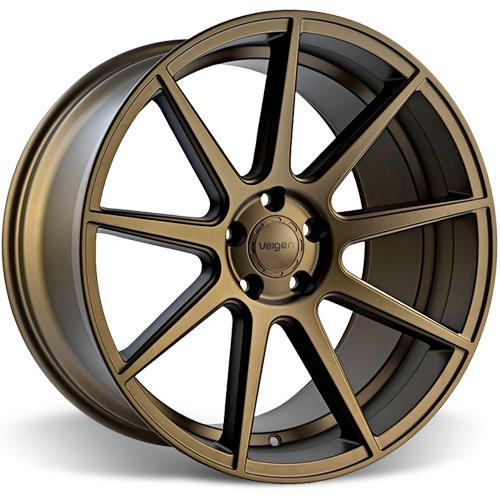 Velgen Mustang VMB9 Wheel & Invo Tire Kit - 20x9/10.5 Bronze (05-14)