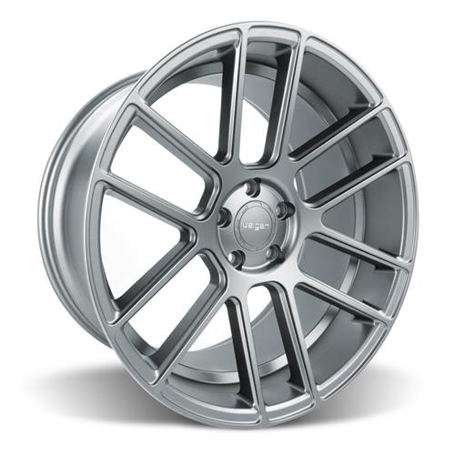 Velgen Mustang VMB6 Wheel & Tire Kit - 20x9/10.5 Matte Gunmetal (05-14) Nitto Invo